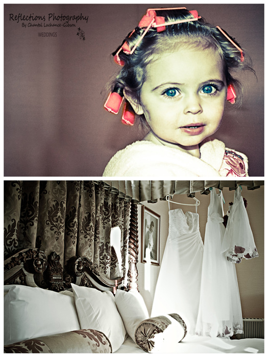 photoblog image Flower girl and dresses